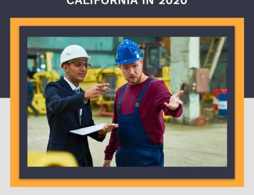 Clasificación de los trabajadores en California 2020