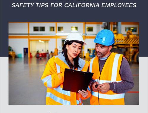 Consejos de seguridad en el lugar de trabajo para empleados de California