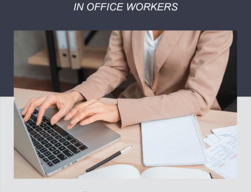 ¿Cuáles son las lesiones más comunes en los trabajadores de oficina?