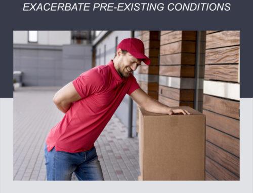 Cuando las lesiones en el lugar de trabajo agravan las condiciones preexistentes