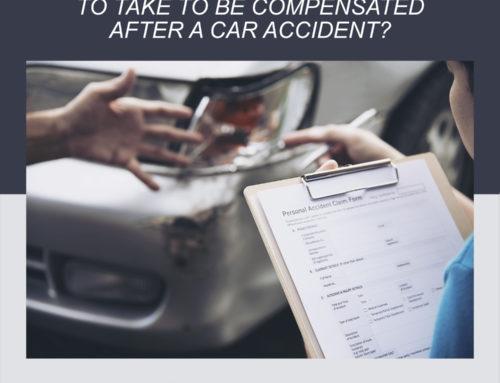 ¿Qué acciones deben tomar las víctimas para ser indemnizadas después de un accidente automovilístico?