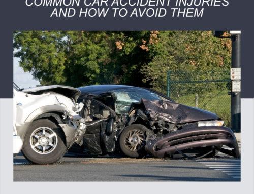 Lesiones comunes causadas por accidentes de tráfico y cómo evitarlos.